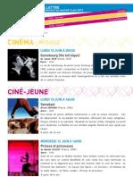 La Lettre de l'IFM Du 9 Au 14 Juin 2013