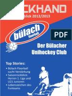 Backhand 2012/2013 Nr. 2