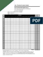 Planilha de Registro Diarios Dos Evs