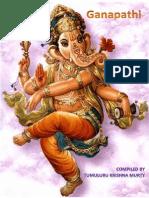 GANAPATHI:SAYING BY BHAGAWAN SRI SATHYA SAI BABA ON LORD GANESH AND HIS PRINCIPLE