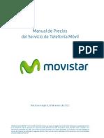 ManualPrecios PreciosActual Contrato MOVISTAR