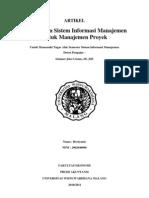 Sistem Informasi Manajemen Merupakan ASLI