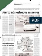 2005.01.03 - Alerta Nas Estradas Mineiras - Estado de Minas