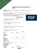 Chestionar Evaluare Training New