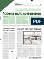 2005.01.23 - Acidente Mata Nove Pessoas - Estado de Minas