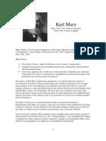 Philosopher Profiles Marx