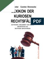 95693017 Ralf Hocker Lexikon Der Kuriosen Rechtsfalle
