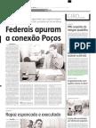 2005.03.15 - Na BR-381, em Itatiaiuçu, caminhão carregado de pneus tombou na pista - Estado de Minas