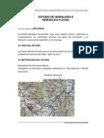 Estudio Hidrologico Puente Panga