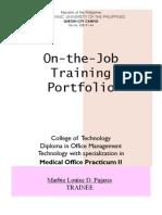 Portfolio Practicumii (Marbie Pajares)