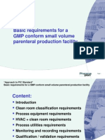 Small-Volume-parenteral Basic Requirement Handout