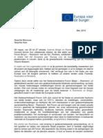 NL Invitation - Descentralized Forum BE-RO