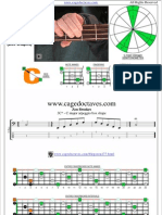 CAGED4BASS C major arpeggio box shapes