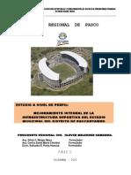 Estudio de Perfil - Estadio de Paucarpata - Pasco
