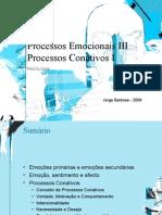 Processos Emocionais e Processos Conativos