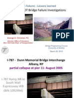 Recent NYSDOT Bridge Failure Ivestigations_UB Presentation