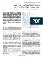 A 65nm, 1- Buck Converter With Multi-Function SAR-ADC-Based CCM-PSK Digital Control Loop