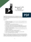 Philosopher Profiles Russell