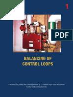 Handbook No 1 Balancing of Control Loops