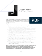 Philosopher Profiles Spinoza