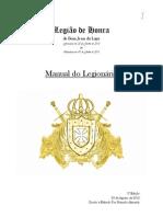 Legião de Honra - Manual Versão 2.0