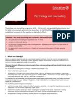 Learning Infosheets Psychology