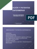 enfermería y patentes