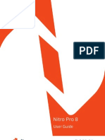 Nitro Pro 8 User Guide