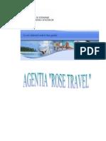 Infiintarea Unei Agentii de Turism - Rose Travel