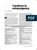 Best Practices in Counterinsurgency - Kalev Sepp