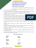ACTIVIDADES PARA PLANEAR DE 1ª GRADO