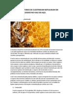 DETECÇÃO DE ESPOROS DE CLOSTRIDIUM BOTULINUM EM MÉIS COMERCIALIZADOS NO VALE DO AÇO