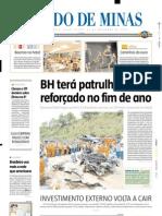 2005.11.25 - Acidente Mata Um e Fere Seis Na BR-381 - Estado de Minas