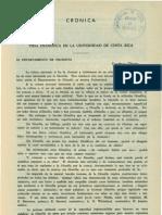 VIDA FILOSÓFICA EN LA UNIVERSIDAD DE COSTA RICA DEPARTAMENTO DE FILOSOFÍA (TEODORO ULATE)
