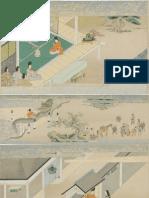 Scroll Panels From the Tale of Fujiwara Hidesato