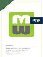 Webmarket.es Plantilla de Presupuesto v1.0