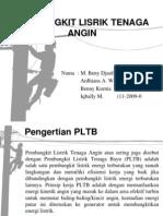 Pembangkit Listrik Tenaga Bayu (Angin) PLTB