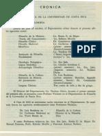 - Cronica Revista de Filosofia UCR Vol.4 No.14