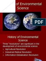 History of Environmental Science 2011