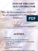 Components of Cost Svc Contracts