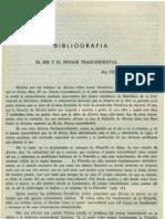 Bibliografia Revista de Filosofia UCR Vol.4 No.14