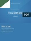 Designing Web Apps