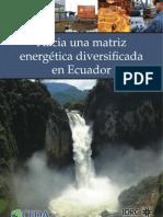 Matriz Energetica Ecuador