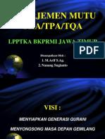 Manajemen Mutu Tk-tpa1