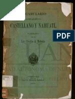 Diccionario Nahuatl