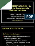 Angina Streptococica Curs