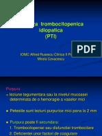 Purpura Trombocitopenica Idiopatica PTI Curs