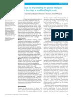 Plantar Fasciitis and DN