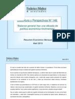 Coyuntura y Perspectiva AR 2013 - 1304