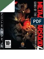 Guía Oficial Metal Gear Solid 4 - Guns of the Pratiots